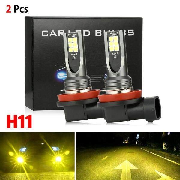 H11 H8 H9 Đèn LED Sương Mù Bộ Chuyển Đổi Cao Cấp 3000K Vàng 350W DRL Đèn