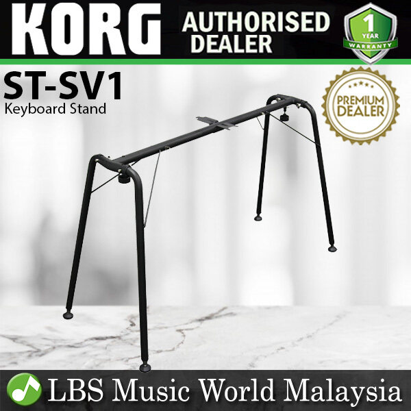 Korg ST-SV1 Vintage Style Keyboard Stand Stage Piano for SV-1 D1 PA-4X Black (STSV1 ST SV1) Malaysia