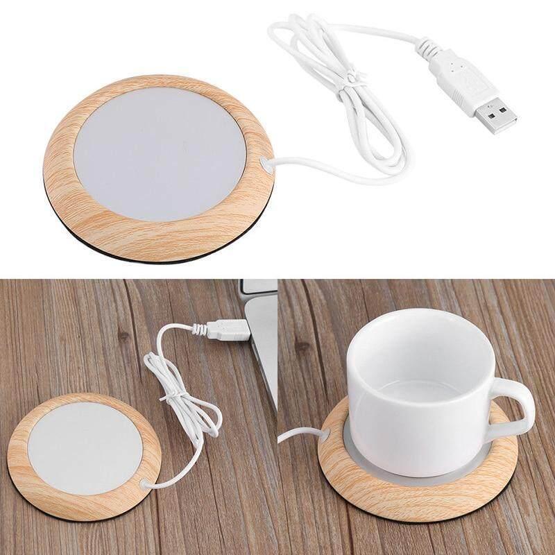 Bảng giá USB Hạt Gỗ Ấm Chén Nhiệt Đồ Uống Cốc Thảm Giữ Ấm Đồ Uống Nóng Cốc Coaster Phong Vũ