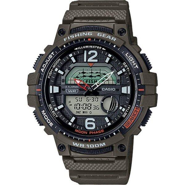Casio Fishing Gear Resin Glass Band Green Men Watch WSC-1250H-3A Malaysia