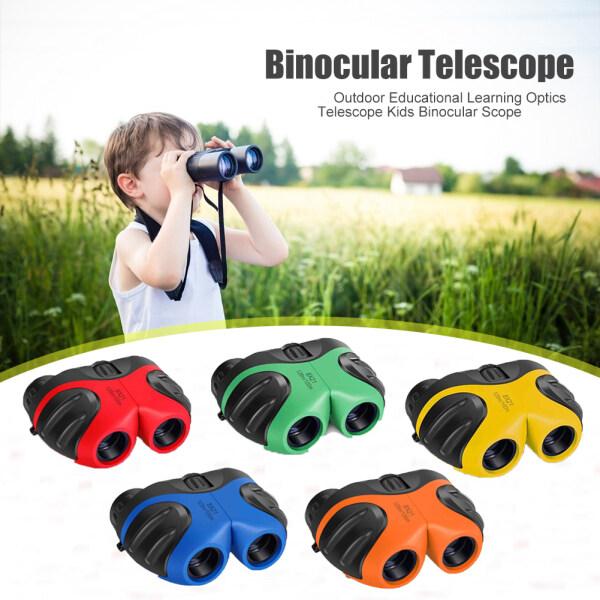 TANGXU926926929 Lake Blue Red Pink Rubber Gift For Kids High Quality Rubber Telescope For Children Binoculars Pocket Rubber Telescope