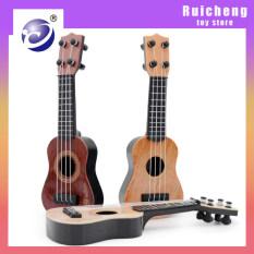 Ukulele Người Mới Bắt Đầu Đàn Guitar Nhỏ Giáo Dục Sớm Học Tập Đồ Chơi Nhạc Cụ Ukulele 4 Dây Đồ Chơi Giáo Dục