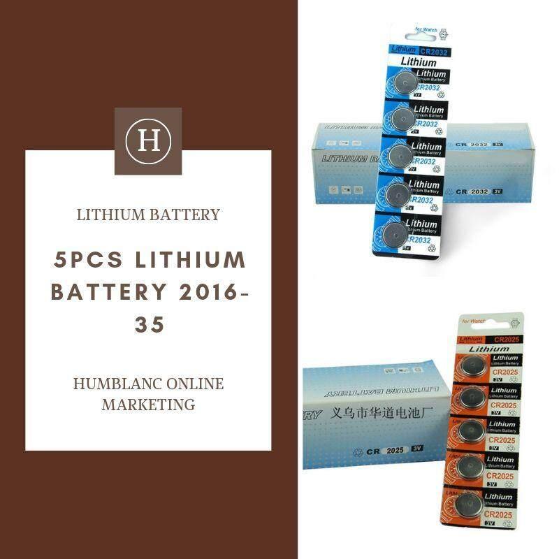 LITHIUM BATTERY 5PCS