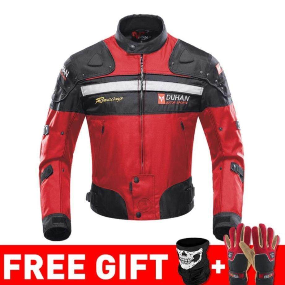 1bb7846e Duhan Autumn Winter Cold-proof Motorcycle Jacket Moto Protector Motorcycle  Pants Moto Suit Touring Clothing Protective Gear Set