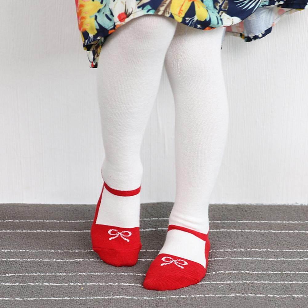 Giá bán Thời trang Quần Legging Cho Bé Kids Bé Gái Giày Hoa Văn Vớ Cotton Cho Bé Đàn Hồi Thông Minh Quần Tất Giữ Ấm