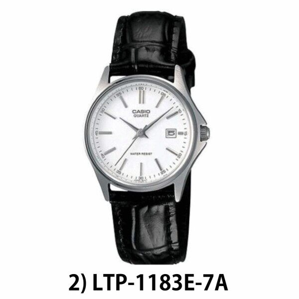 [100% ORIGINAL] CASIO LTP-1183 SERIES WOMEN / LADY ANALOG QUARTZ DRESS WATCH Malaysia
