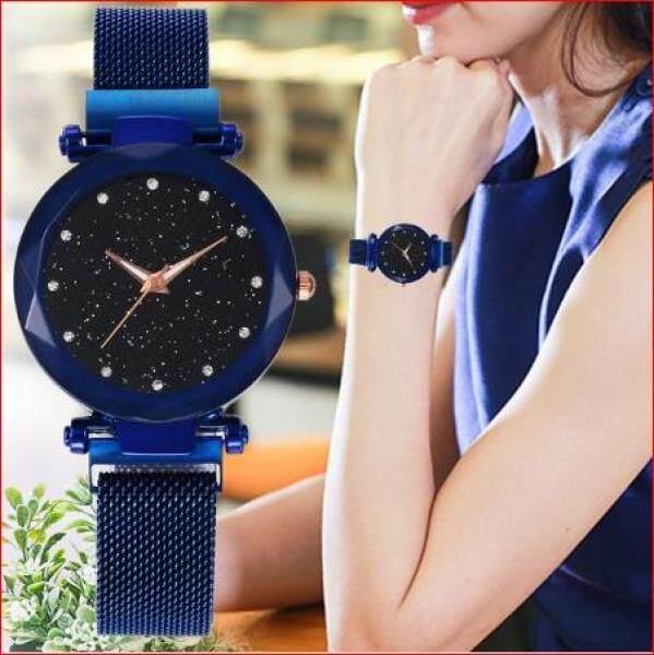 Syurga A3 Starry Magnetic Buckle Stainless Steel Watch Sky Diamond Quartz Malaysia