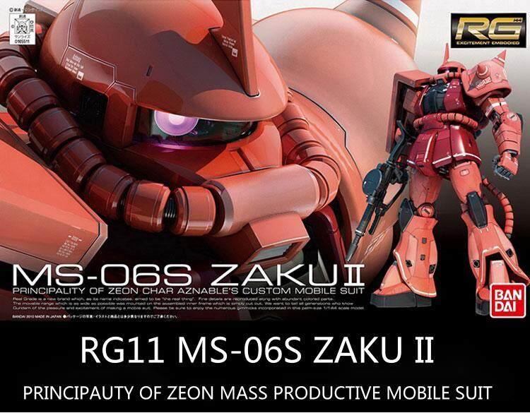 [DL] Đề Can Nước Cho MS-06F RG 1/144 ZAKU Đề Can MS-06R-2 Màu Đỏ Xanh Lục ZAKU JOHNNY RIDDENS' ZAKU II Gundam Bộ Miếng Dán Mô Hình BANDAI
