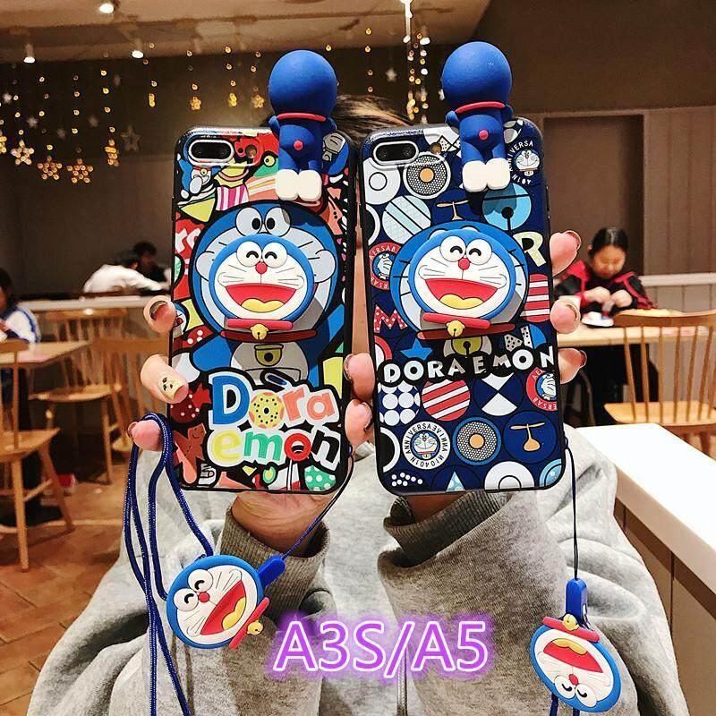 Giá OPPO A5 Ốp Lưng Oppo F5 F1 F3 A1 A3 A3S A37 A39 A57 A59 A59S A71 A73 A77 A79 A81 ốp lưng Thời Trang Cao Cấp Bảo Vệ Đầy Đủ Giá Đỡ Hỗ Trợ Tay Doraemon dành cho Ốp Lưng IPhone Landyard Dây Đeo
