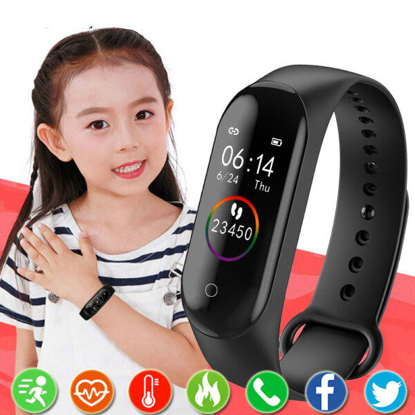 POSHI Waterproof Digital Watch For Kids Children Watches For Girls Boys Wrist Watch Electronic LED Sport Wristwatch Child Clock With Gifts Malaysia