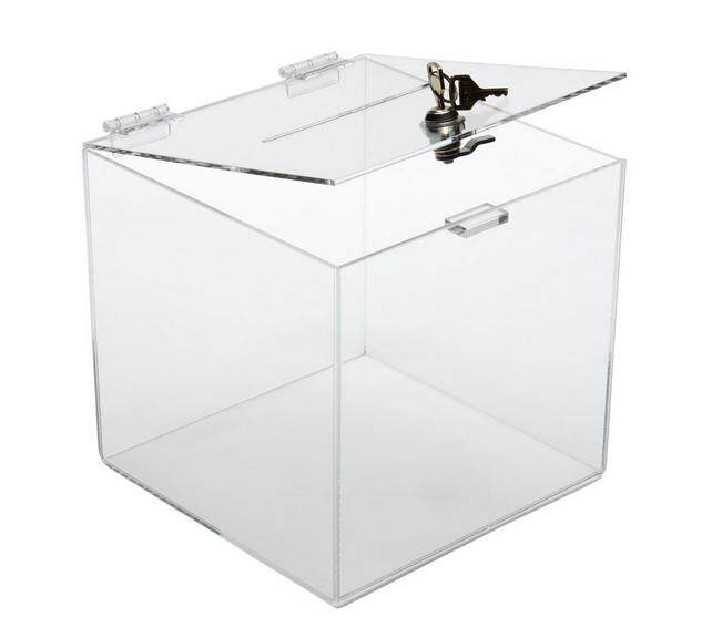 Acrylic Suggestion Box