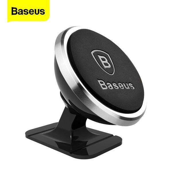 Baseus Giá đỡ điện thoại trên ô tô từ tính Xoay 360 độ Giá đỡ điện thoại đa năng cho iPhone Samsung Huawei Xiaomi Oppo Vivo Realme Giá đỡ di động trên ô tô