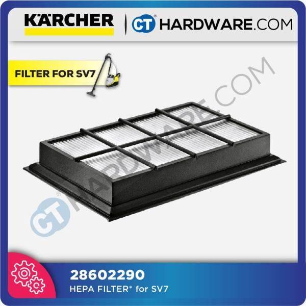 Karcher 28602290 HEPA FILTER* For SV7