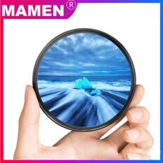 Bộ lọc cho ống kính máy ảnh DSLR mamen, gồm nhiều lớp chống tia UV, siêu tím, 49mm, 52mm, 55mm, 58mm, 62mm, 67mm, 72mm, 77mm dành cho phụ kiện ống kính máy ảnh DSLR của Canon