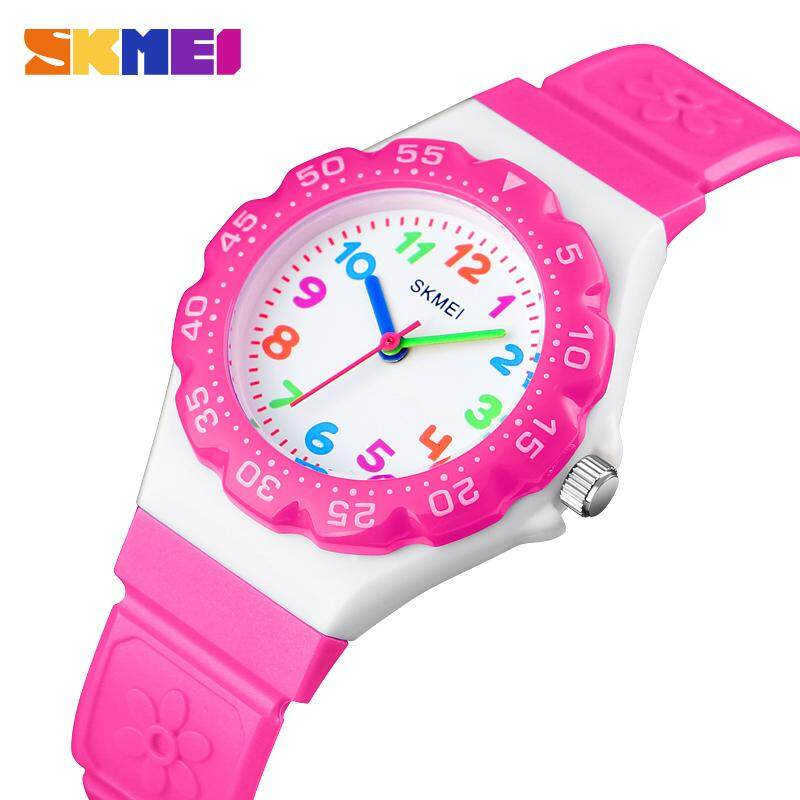 SKMEI New Women Fashion Watches Cute Casual Waterproof Watch Children Girl Quartz Wristwatches 1483