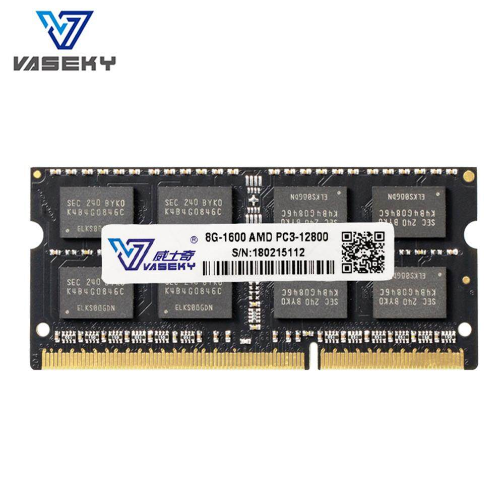 Vaseky RAM DDR3 8 GB 1600 MHz AMD Laptop Notebook Nhật Bản