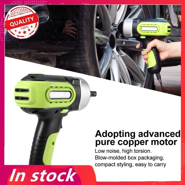 【Promotions】12V Electric Impact Wrench 420N.M High Torsion Professional Tire Change Replace Tool