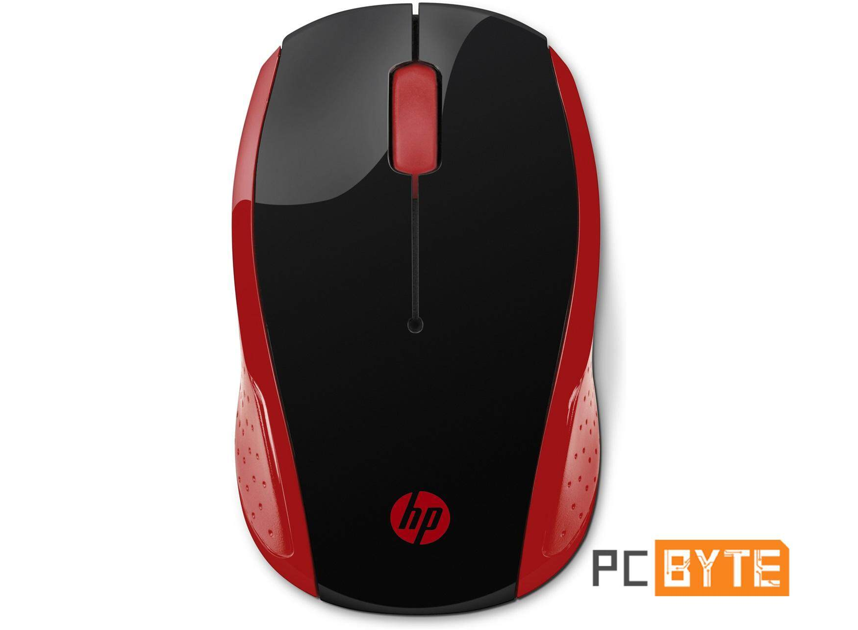 HP 200 Wireless Mouse (Empress Red) Malaysia