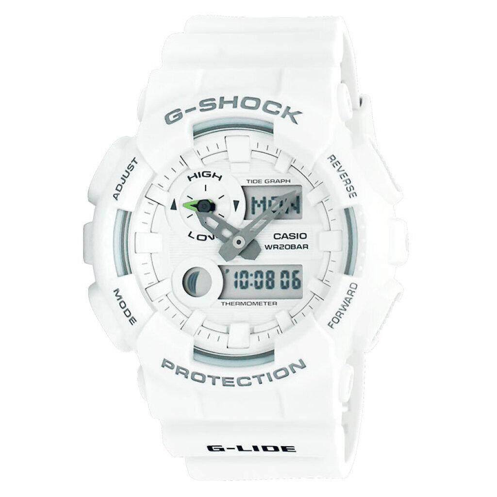 ยี่ห้อนี้ดีไหม  กระบี่ 【 STOCK】Original _ Casio_G-Shock GA110 Duo W/เวลา 200M กันน้ำกันกระแทกและกันน้ำโลกนาฬิกากีฬาไฟแอลอีดีอัตโนมัติ Wist นาฬิกากีฬาสำหรับ MenWhite GAX-100A-7A