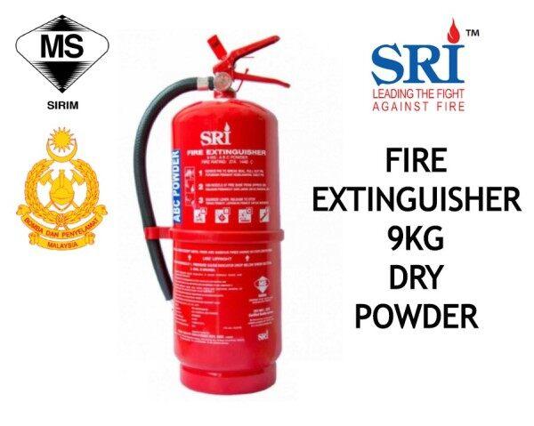 SRI Portable Fire Extinguisher (9kg) ABC Dry Powder