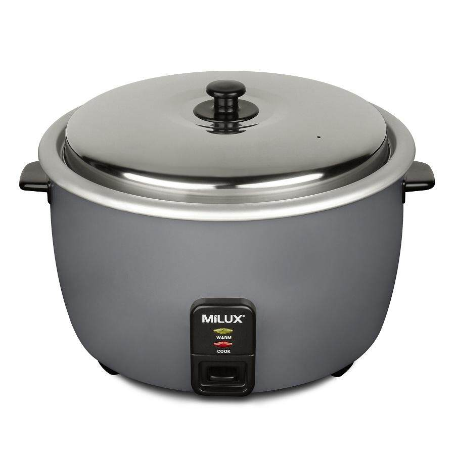 Milux Commercial Rice Cooker - 2.8 Liters (mrc-528) By Public Electric.