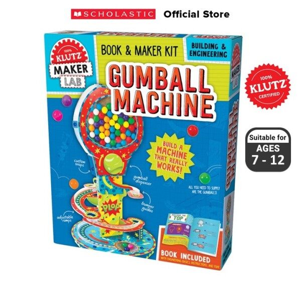 Klutz: Build Your Own Gumball Machine (ISBN: 9781338159653) Malaysia