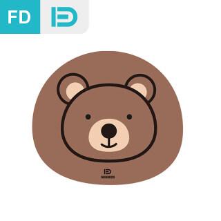 [NEW] FD MousePad Cartoon Mouse Pad, Smooth Silk Fabric+Silicone, Basic Mousepads thumbnail