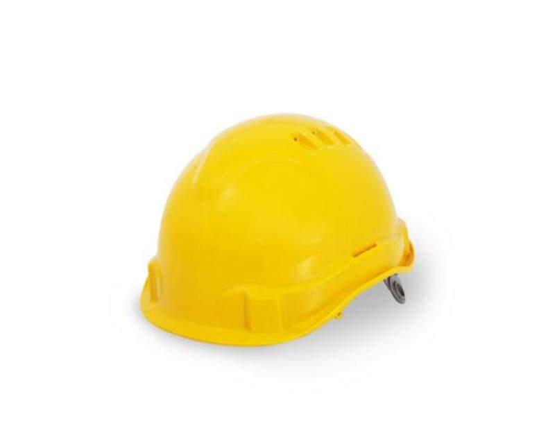 PROGUARD Advanlite 2 Safety Helmet (Yellow) - Swivel Ratchet c/w Sweatband & 4 Point Chin Strap (Sirim Certified)