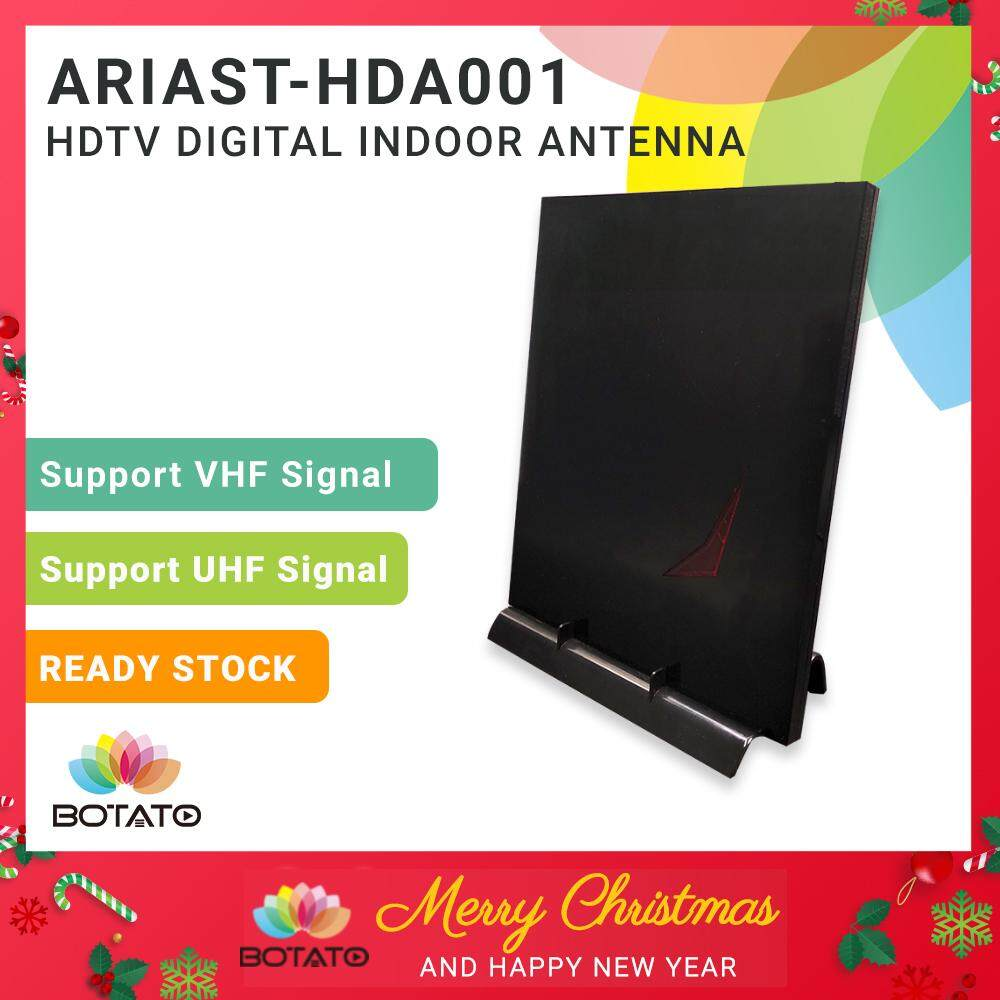 HDTV UHF Digital Indoor Antenna Aerial with Booster MYTV Myfreeview DVB T2  Dvbt2 box HDTV Compatible [[Botato Electronic]]