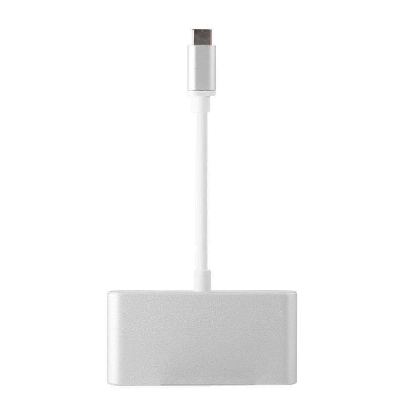 Bảng giá ĐẦU Loại C USB-C để Hub 4 Cổng USB 2.0 5 Gbps Cho Apple Cho Macbook Phong Vũ