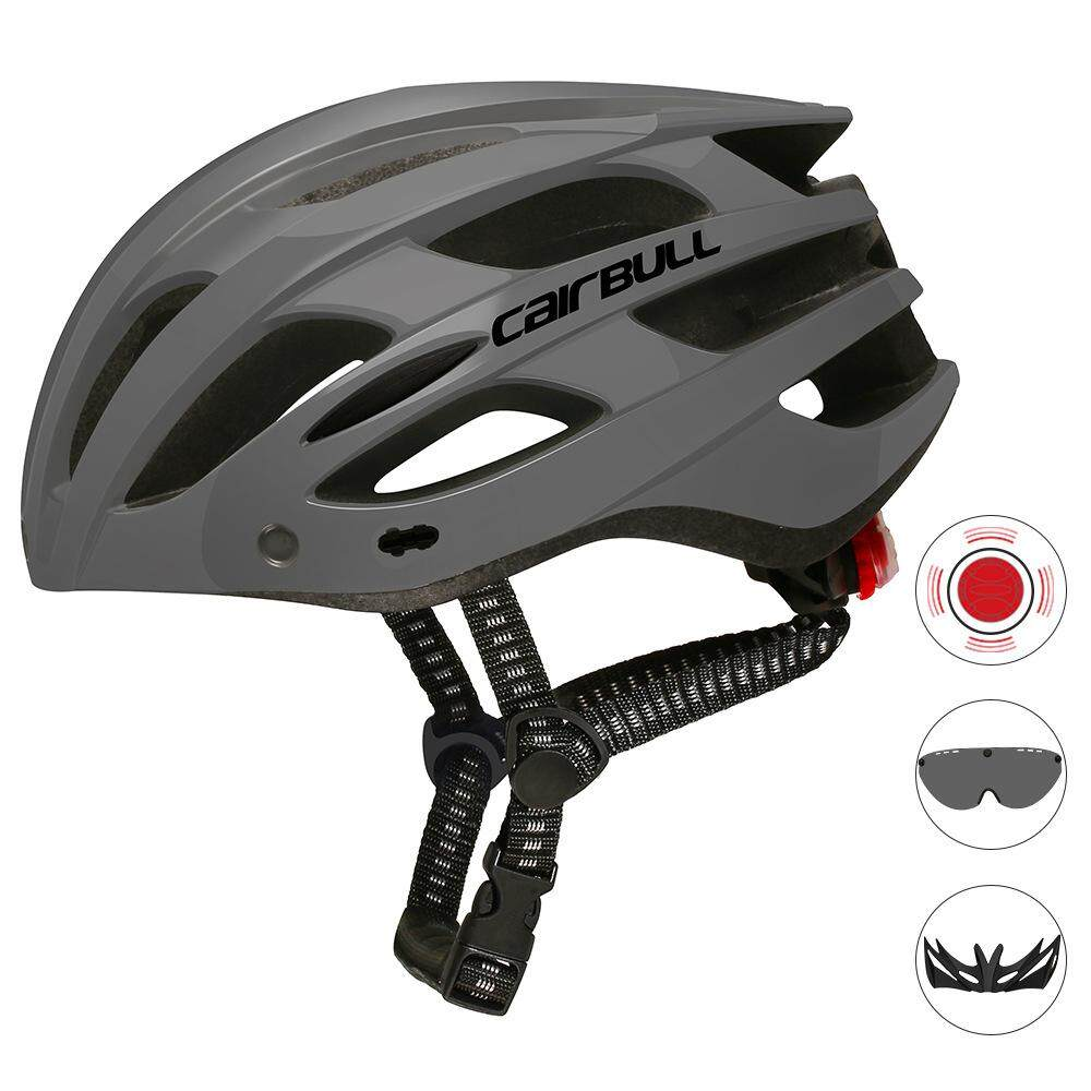 Mountain Bike Cycling Helmet In-Molded Reinforcing Comfortable Breathable Bicycle Helmet with Backlight