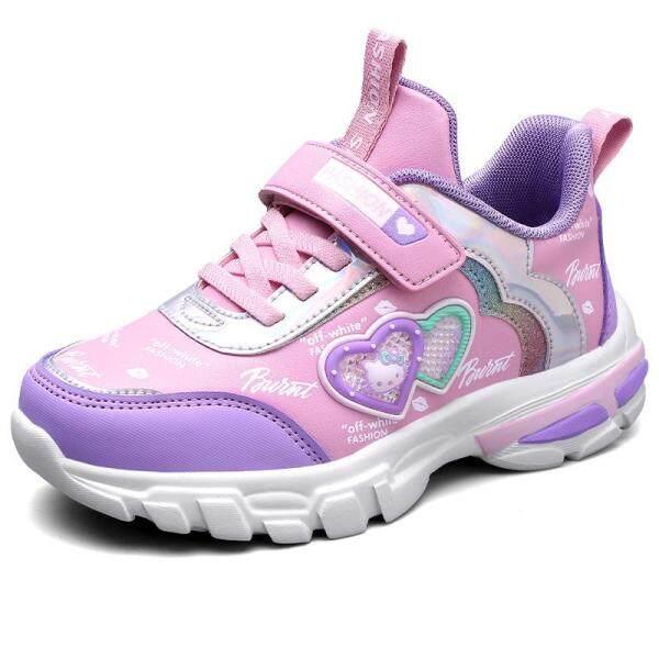 Giá bán Giầy Thể Thao Trẻ Em Bé Gái Giày Teen Shopes Giày Tập Đi Dễ Thương Giày Sneakers Trẻ Em Chạy Bộ Mềm Mại Thoải Mái Chống Trơn Trượt Tiện Lợi khóa Dán