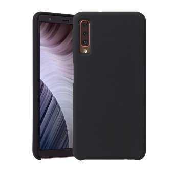 HOWMAK Rubberized Silky เคสโทรศัพท์มือถือทีพียูสำหรับซัมซุงกาแล็คซี่ A7 (2018)-