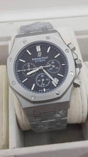 White Black Stylish Automatic Watch Malaysia