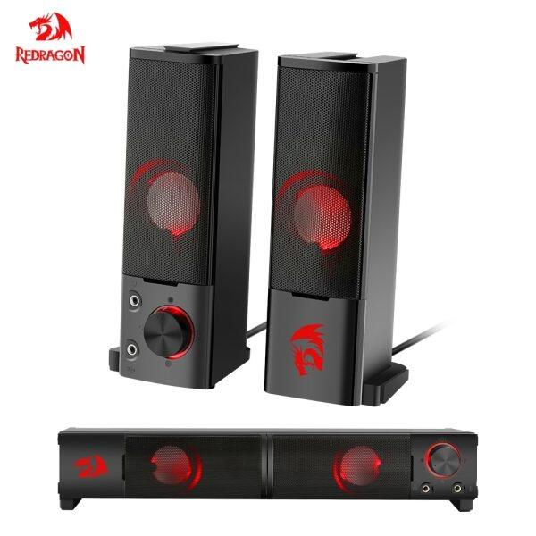 Redragon GS550 aux 3.5mm stereo surround music smart speakers column sound bar for the computer PC home notebook TV loudspeakers Malaysia