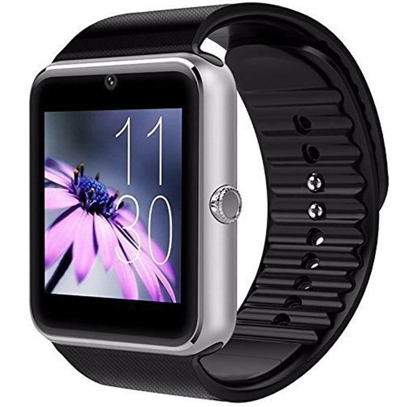 Evertoner GT08 Đồng Hồ Thông Minh Smartwatch Bluetooth Chống Thấm Mồ Hôi Cảm Ứng Điện Thoại Với Camera TF/Khe Cắm Sim Cho Android Và iPhone điện Thoại Thông Minh Cho Bé Gái Bé Trai Nam Nữ Nhật Bản