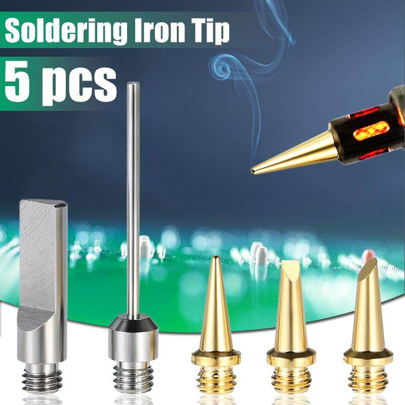 【Free Shipping + Flash Deal 】5pcs Gas Soldering Iron Tips Lead Free Soldering Welding Station Butane Tool