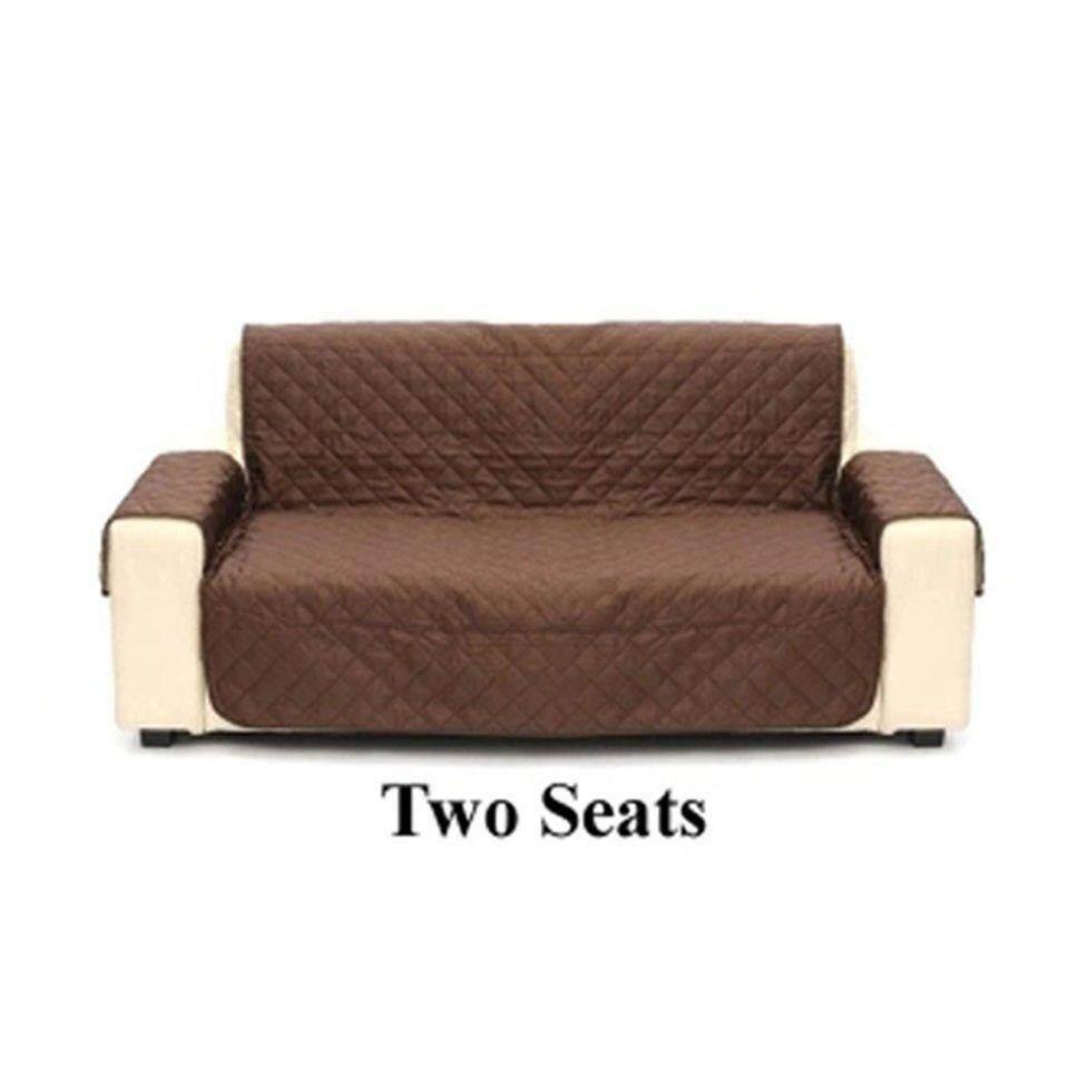 ผู้ขายที่ดีที่สุดผ้าคลุมโซฟาเฟอร์นิเจอร์ Reversible Loveseat กันน้ำที่นั่งปลอกเก้าอี้ By Beau-Store512.