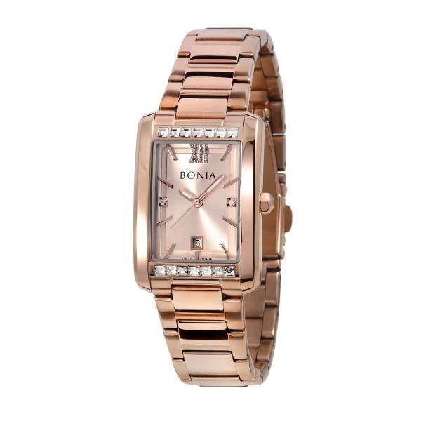 Bonia 3-H Date Rosegold Bracelet 24mm Women Watch BNB10595-2573 Malaysia