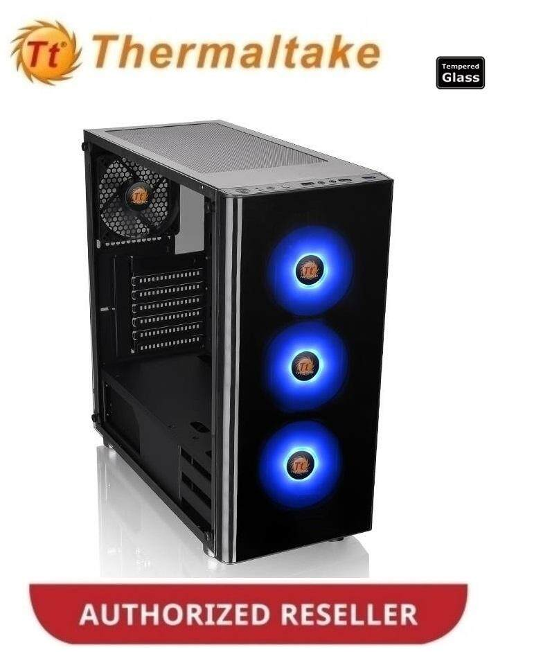 Thermaltake V200 Tempered Glass RGB Edition Mid Tower Chassis (CA-1K8-00M1WN-01) Malaysia