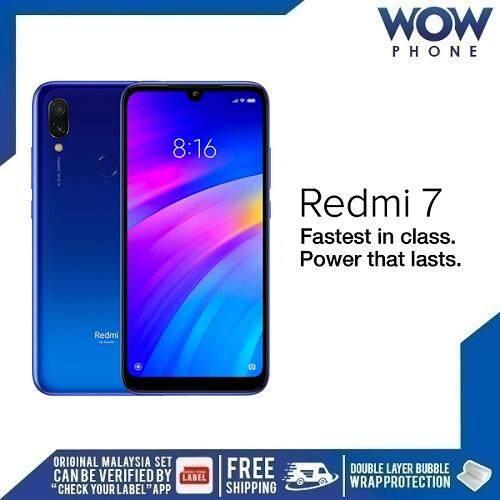 XIAOMI REDMI 7 (2GB RAM + 16GB ROM / 3GBR AM +32GB ROM) MALAYSIA SET!! 1  YEAR WARRANTY BY XIOAMI MALAYSIA!!