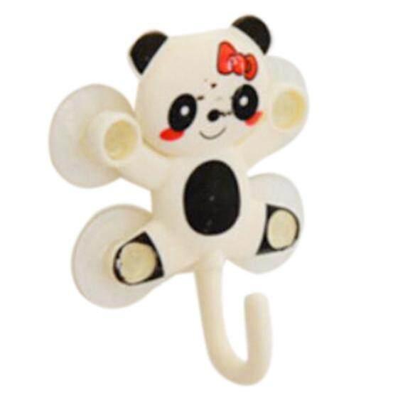 New Fashion Cute Cartoon Sucker / Sucker Hook Robe Hook Bathroom Accessories(White Panda)