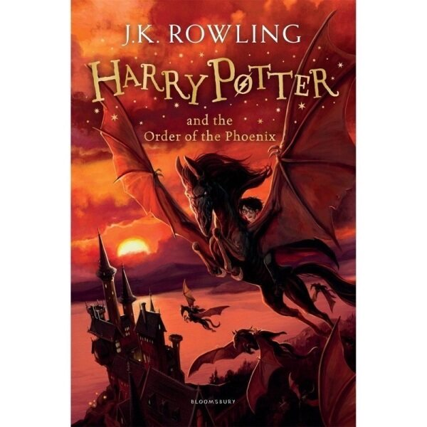 (UK5) Harry Potter The Order Of The Phoenix Malaysia
