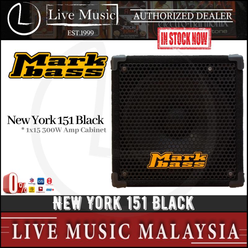 Mark Bass New York 151 Black - 300 watts Amplifier Cabinet Malaysia