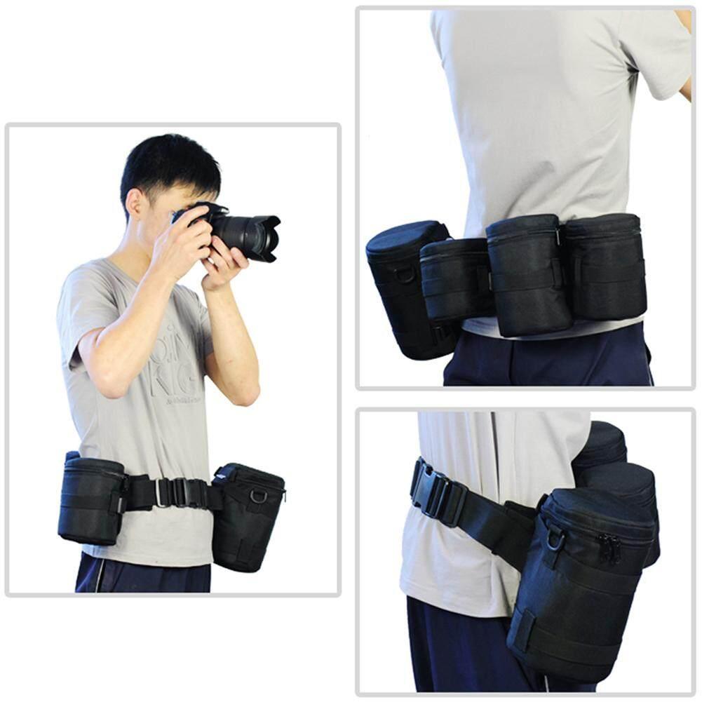 กระเป๋าเลนส์ที่มีน้ำหนักเบาง่ายต่อการพกพามัลติฟังก์ชั่นกันกระแทกประหยัดพื้นที่ป้องกัน.