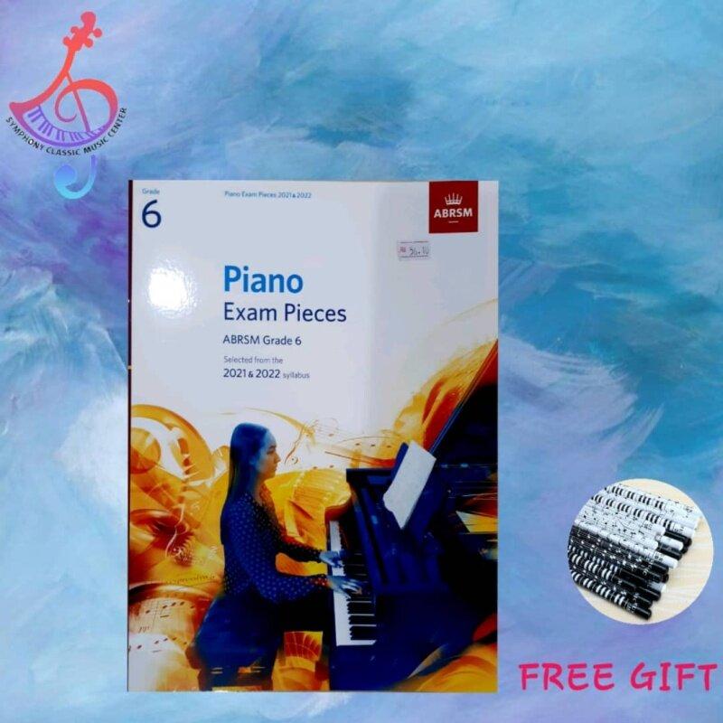 ABRSM Piano Exam Pieces 2021 & 2022 - Grade 6 Malaysia