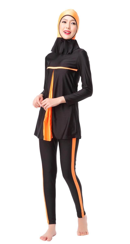 1221a9f08d4 Muslimah High Quality Muslim Women Swimwear Islamic Muslim Beachwear Swim  Suit Pakaian Renang Muslim Islamic Swimsuit