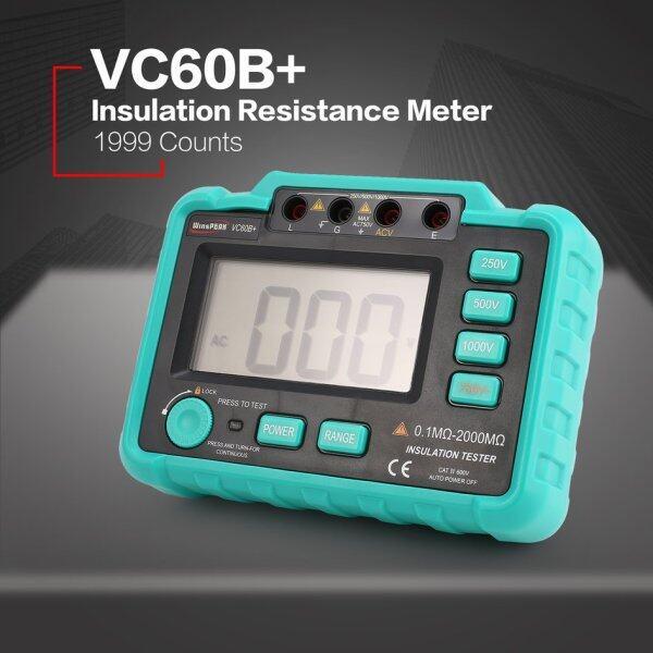 【2 Items FREE SHIPPING】 Cozy VC60B+ 1000V Digital Insulation Resistance Meter test*r Megohmmeter Megger