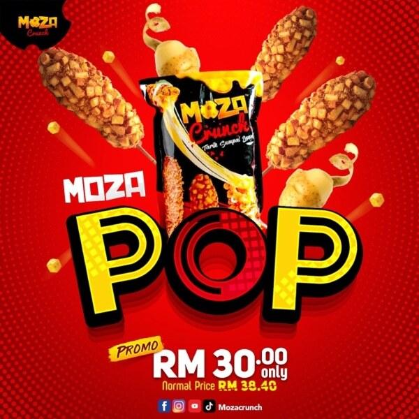 MOZA POP CORNDOG MOZACRUNCH Malaysia