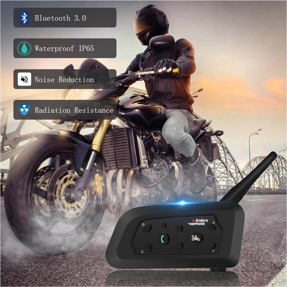 Motorcycle Headsets For Sale Bluetooth Online Brands Buy Wholesale Wiring Harness From China Vnetphone V6 Helmet Full Duplex Intercom Headset